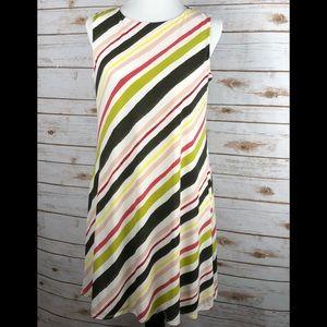 🆕Nine West cute striped sleeveless dress